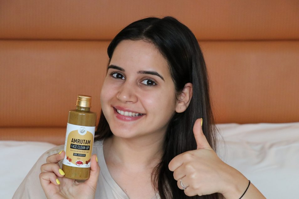 Amrutam Face Clean Up Review